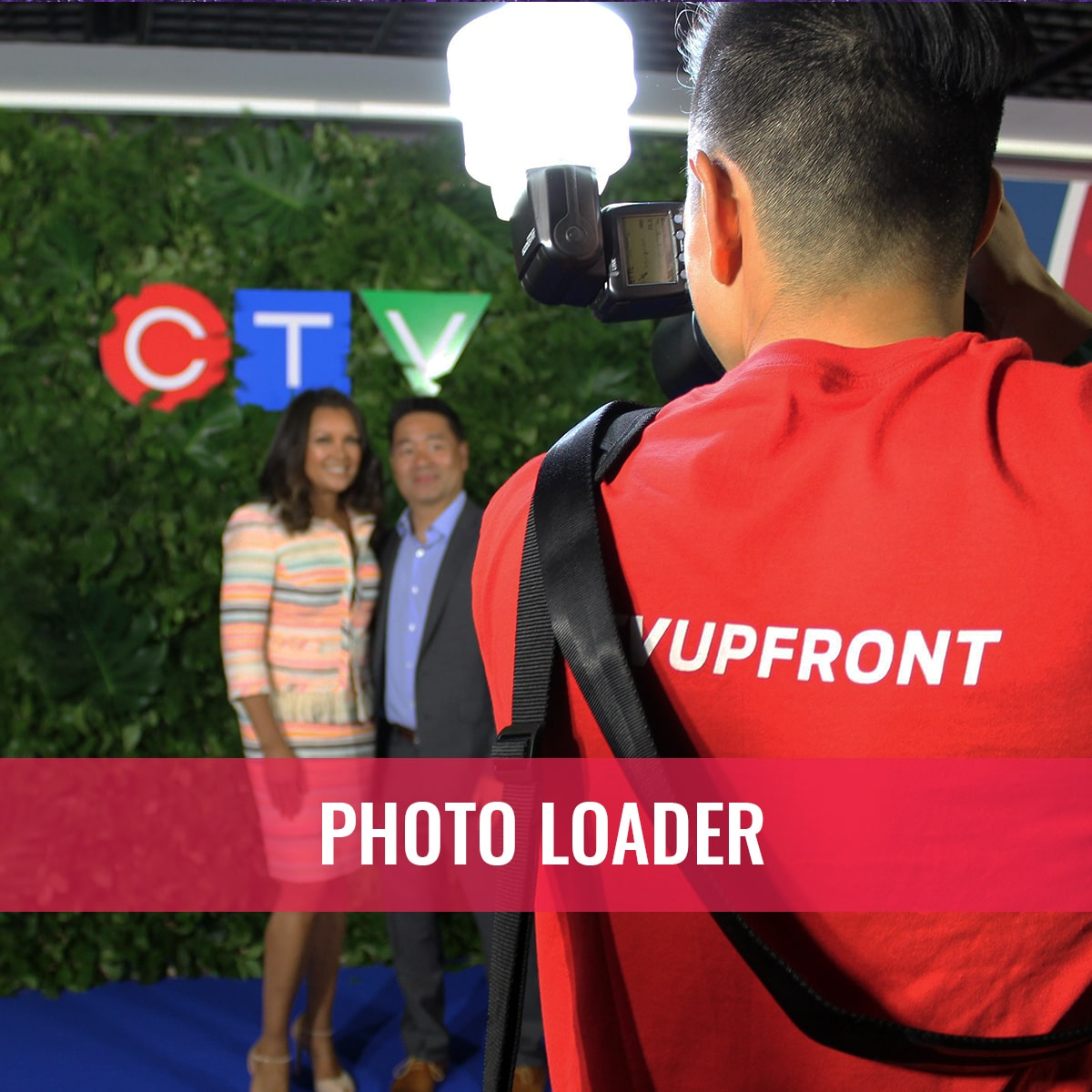 Photo Booth Rental Services ctv upfronts photo loader event photography