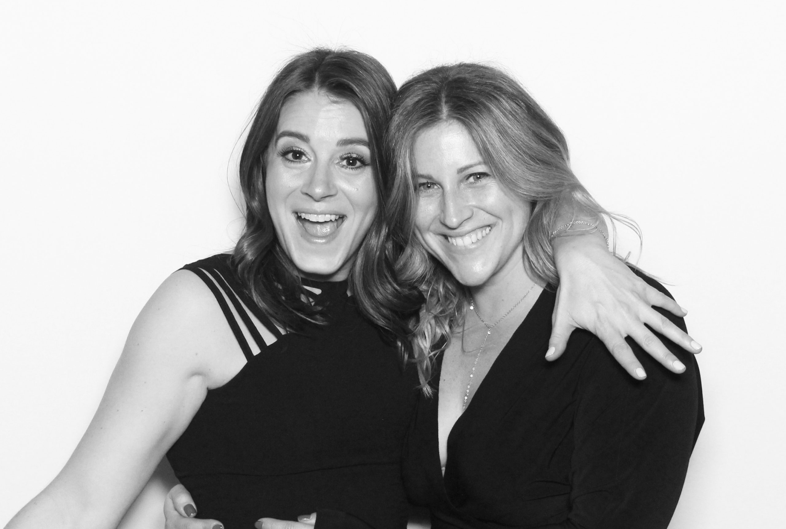 Photo Booth Rental Services black and white photo infinity Booth