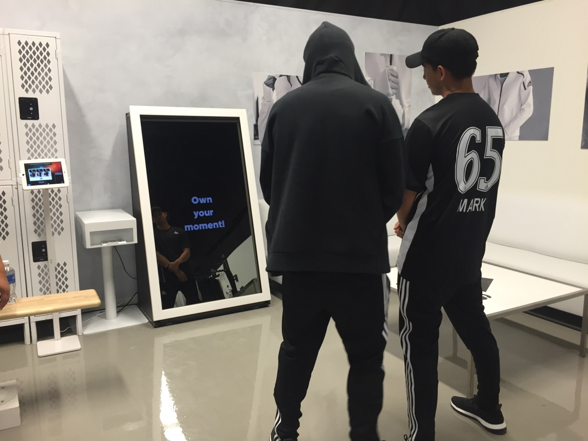 Adidas Selfie Mirror Booth Toronto events