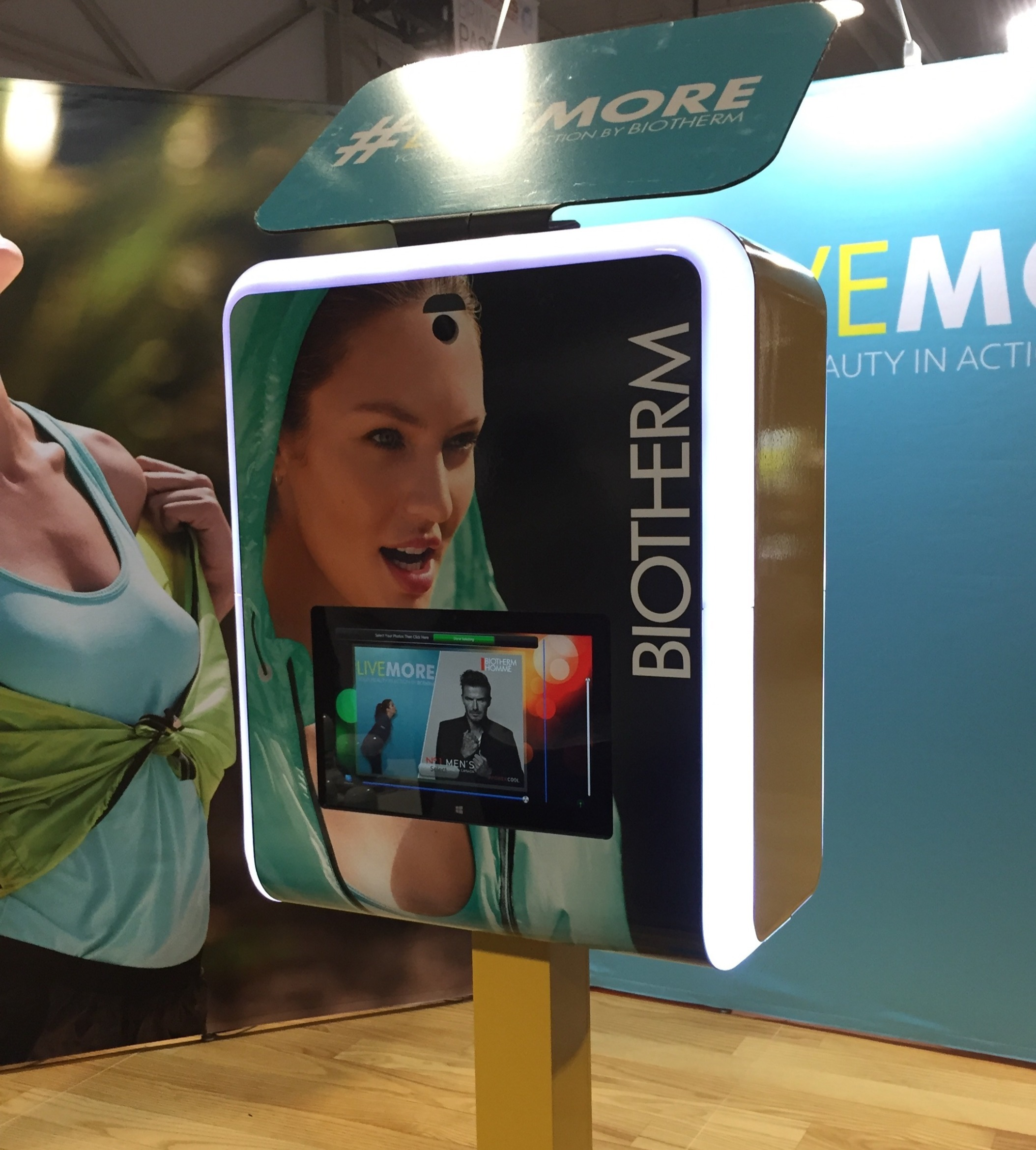 Biotherm with custom vinyl wrap and bak tablet