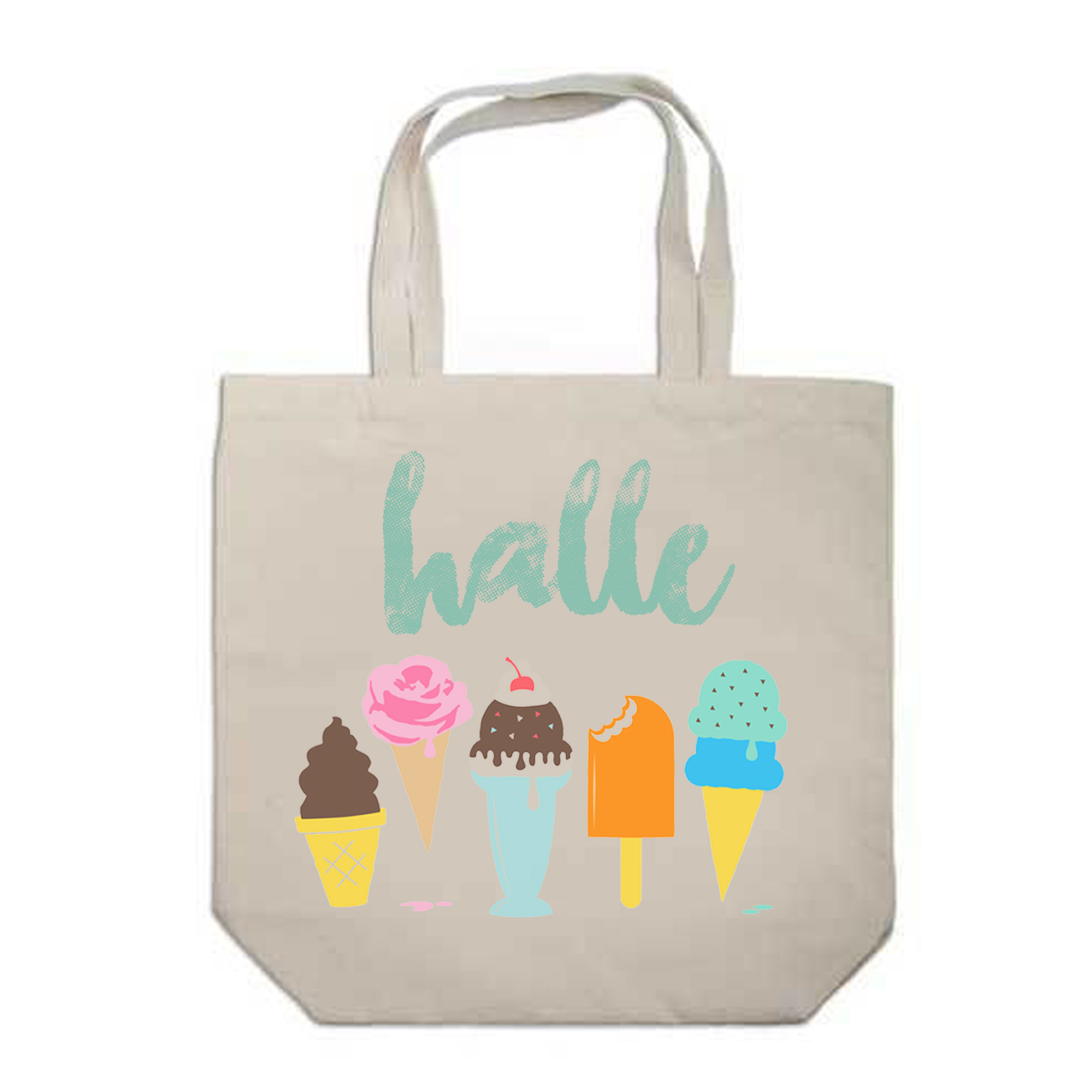 Custom Tote printed live at events